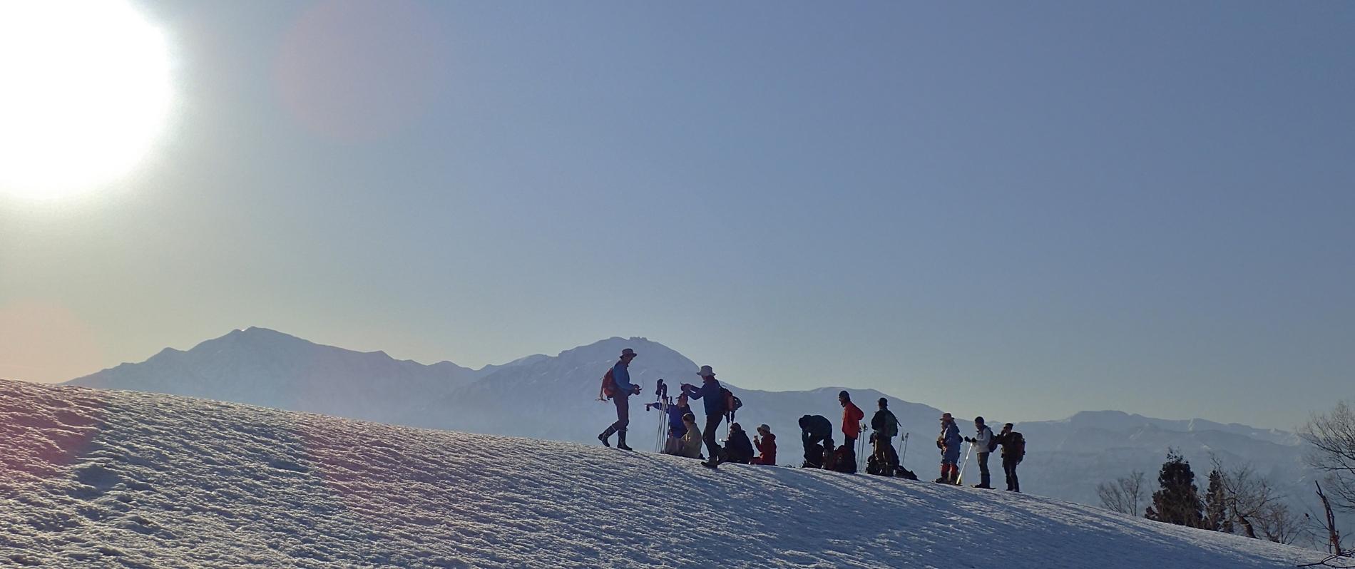 春山散歩・雪山ツアー
